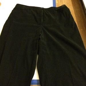 Black tribal pants